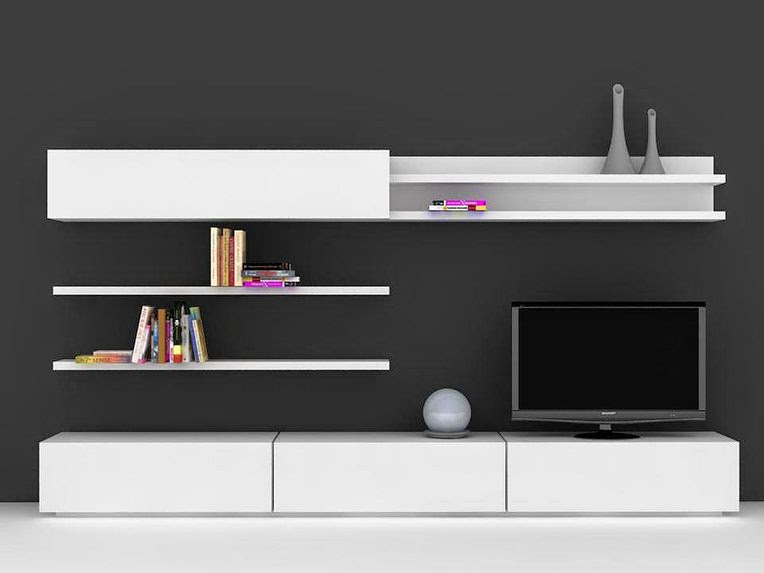 Organizadores muebles decoractual dise o y decoraci n for Muebles diseno living