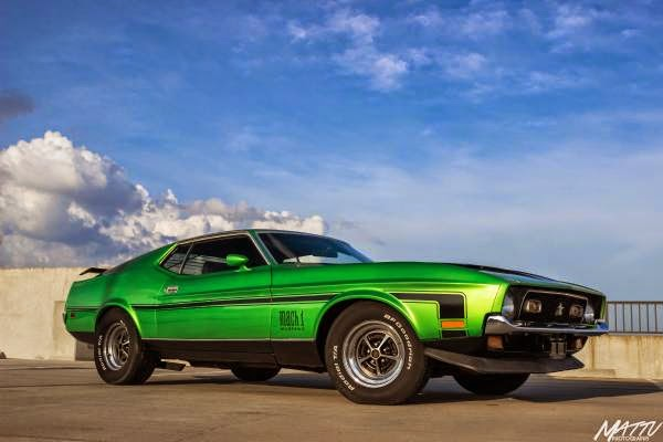 1972 Ford Mustang Mach 1 351 Cobra Jet Q Code Buy American Muscle Car