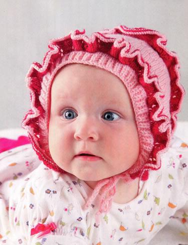 Вязание шапок для детей схемы