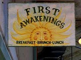 First Awakenings breakfast spot in Monterey on Semi-Charmed Kind of Life