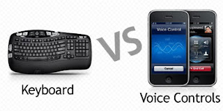 Keyboard vs Voice Controls