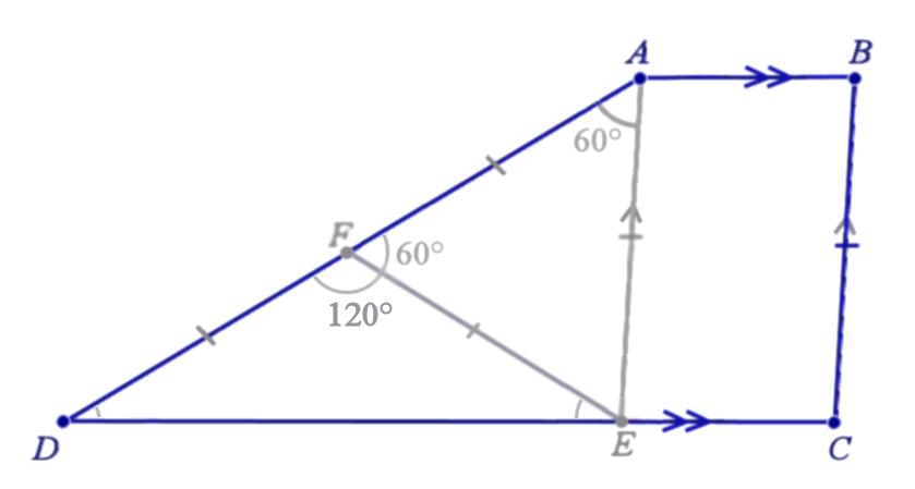 Truly Singaporean Singapore Mathematics Olympri20150526 The Smallest Angle In A Special Trapezium