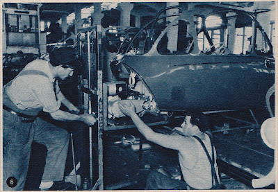 Heinkel Cabin Cruiser Factory Assembly Line