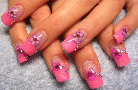 Pink Nail Art Designs Nail Designs Hair Styles Tattoos And