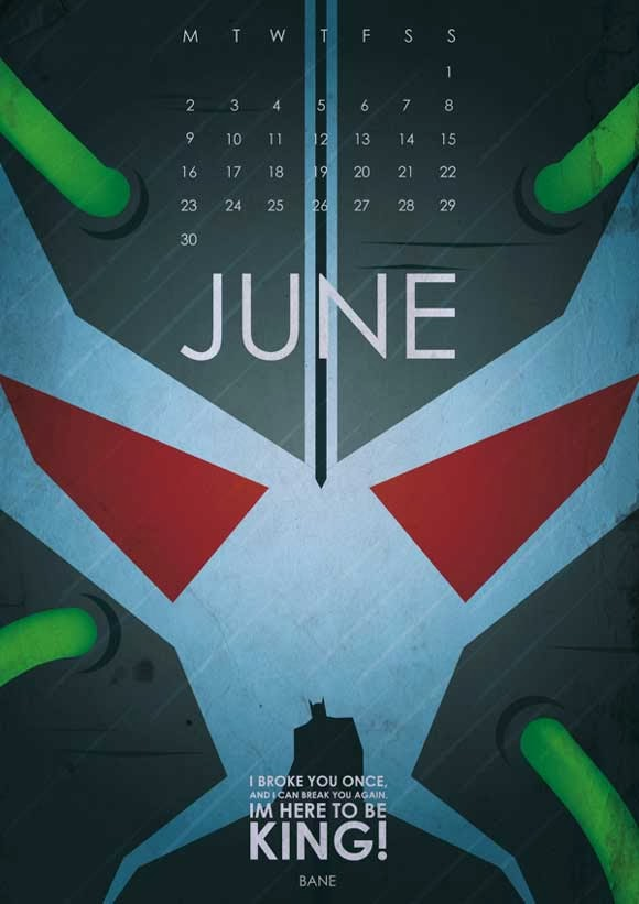 Gotham's Most Wanted Calendar