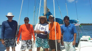 Competidores de Penedo participam da Regata Internacional Recife