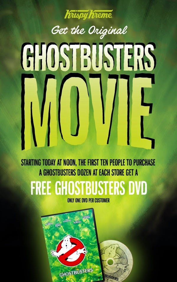 Krispy Kreme Ghostbusters DVD