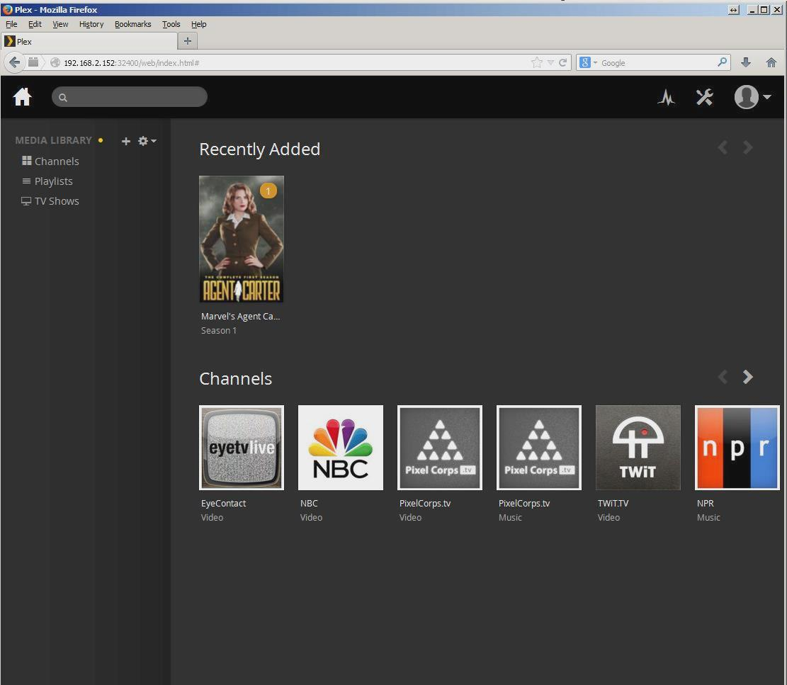 John Willis: Plex, How to Integrate EyeTV and the Roku streaming stick