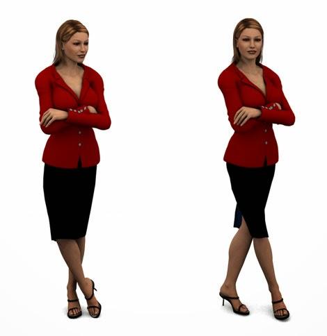 Women and body language