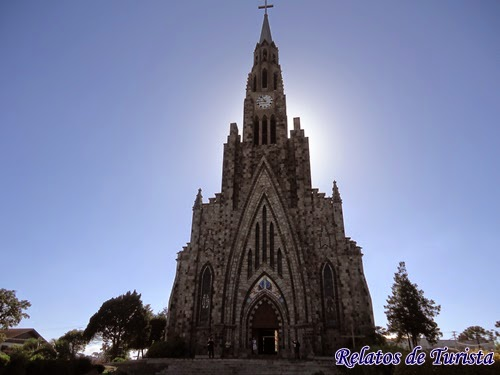 Informações sobre a Catedral de Pedra de Canela