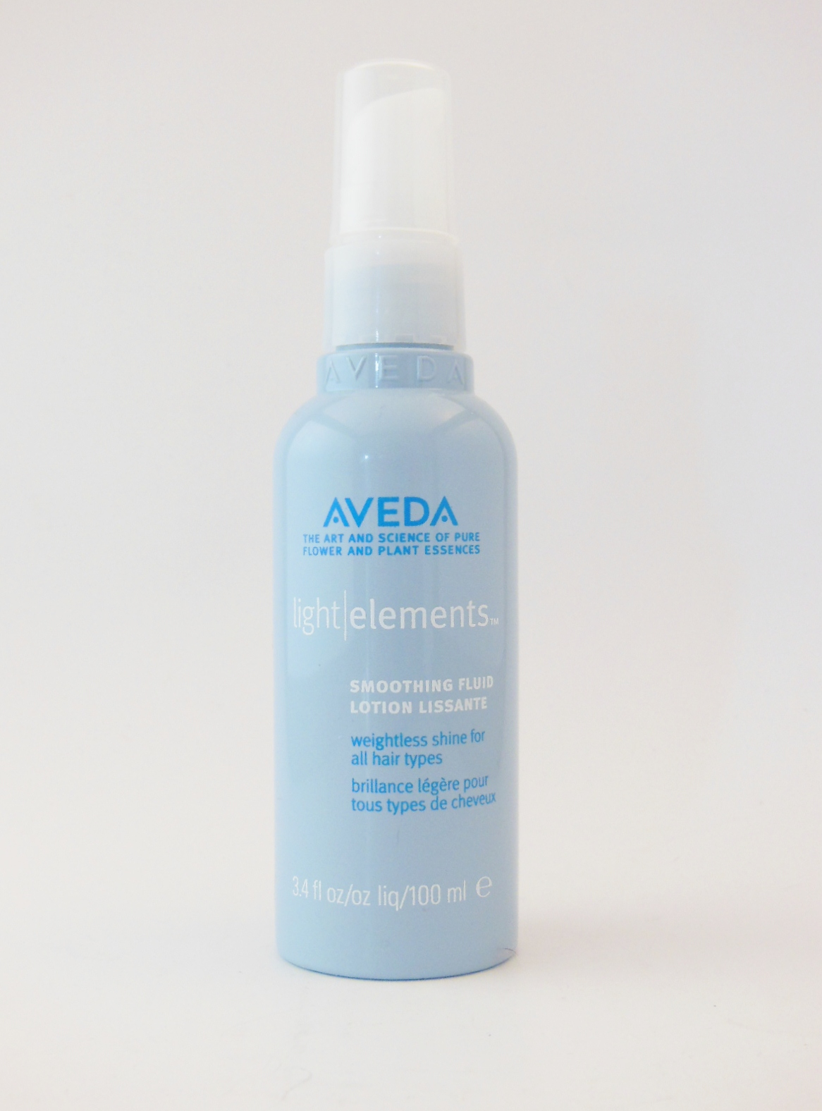 product review aveda light elements smoothing fluid by the beauty. Black Bedroom Furniture Sets. Home Design Ideas