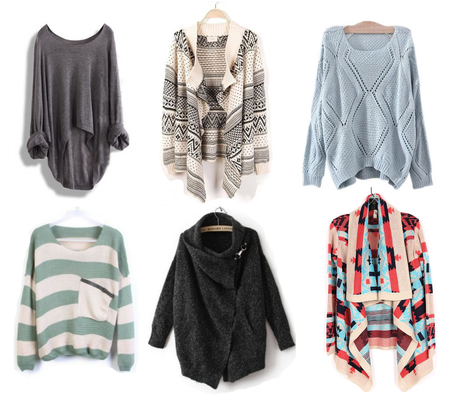 live a little wilder: things I love: slouchy sweaters