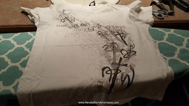 An Easy T-Shirt Skirt  www.hensleefarmadventures.com