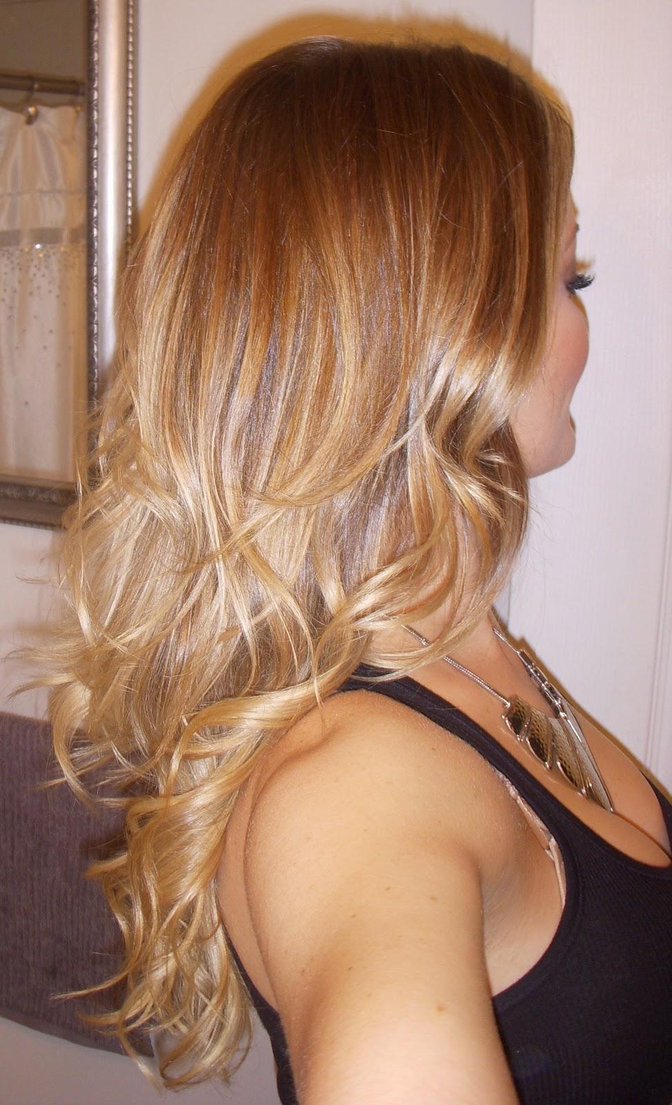 Soft Ombre Hair Shimmer La Rue