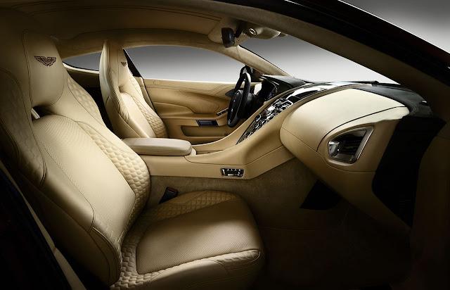 Aston Martin new Vanquish interior 1