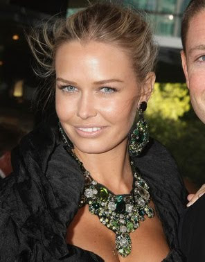 Lara Bingle Gemstone Statement Necklace