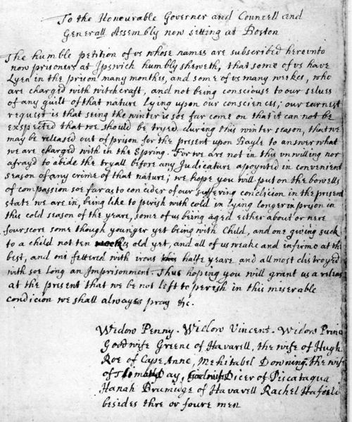 the salem witch trials 1962 -1963 essay Colonial america: the salem witch trials took place in 1692 by the time the witch hysteria was over, 20 people had lost their lives due to prosecution.