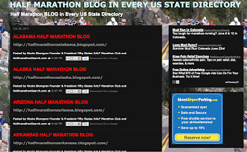 National Half Marathon Blog Directory