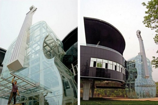 The Piano House, China, huainan city, china, hefei university, creative building, piano shape home, house, piano shape, weird piano, biggest piano, world record