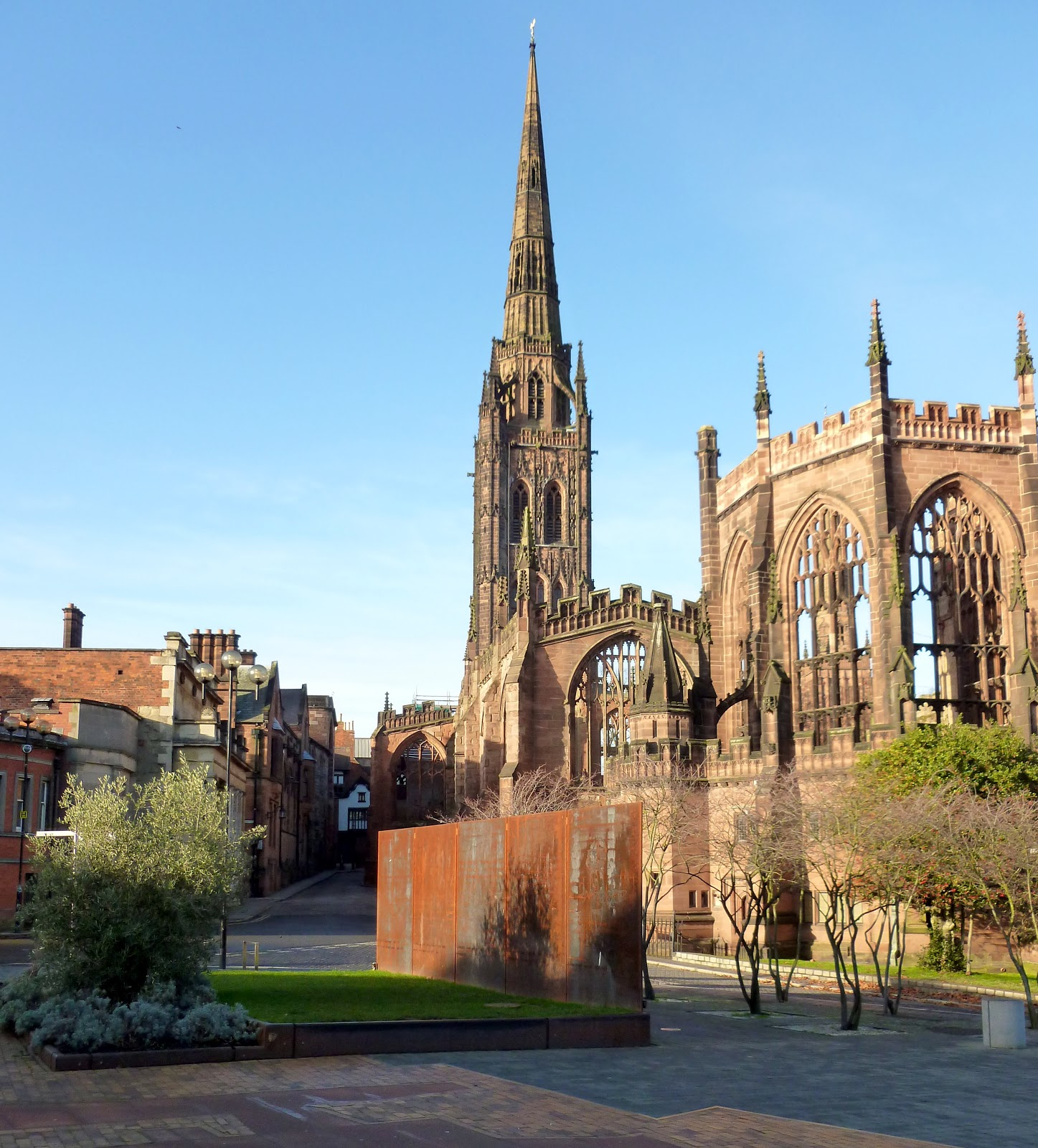 Today around coventry coventry cathedral along side for Conventry com