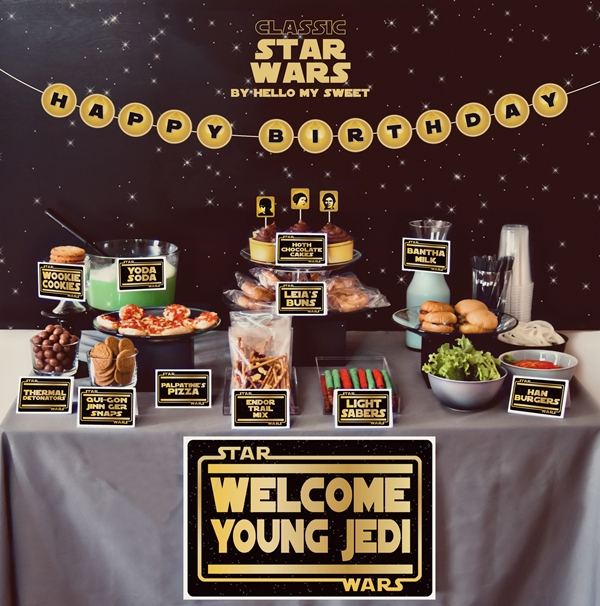 Star Wars Birthday Party Ideas, Star Wars Birthday Party Decorations