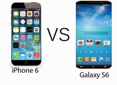 Samsung Galaxy S6 Versus iPhone 6: The Battle of the Gaints
