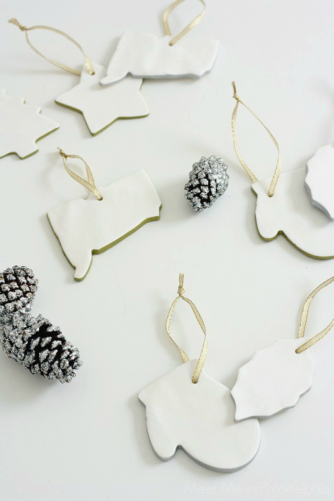 completed white clay ornaments_1 via Meet Me in Philadelphia