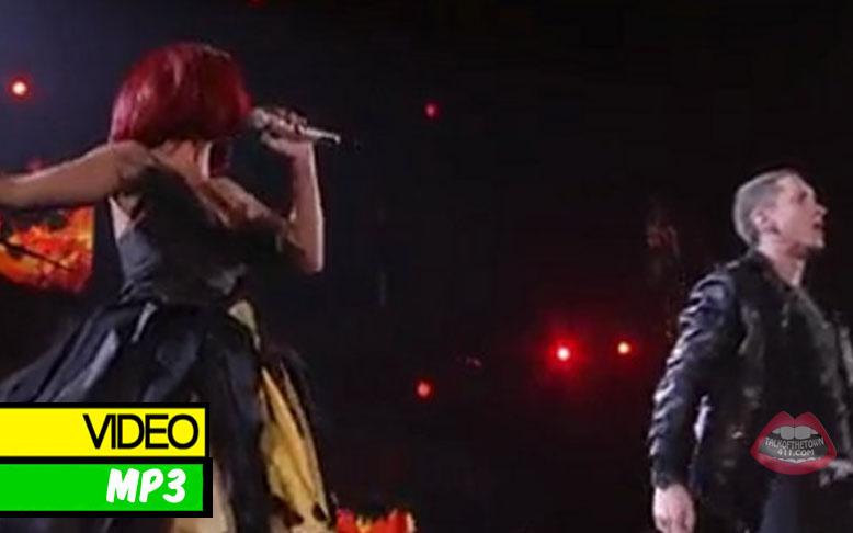 "Grammys 2011: Rihanna & Eminem ""Love The Way You Lie"" Live (#MP3 ..."