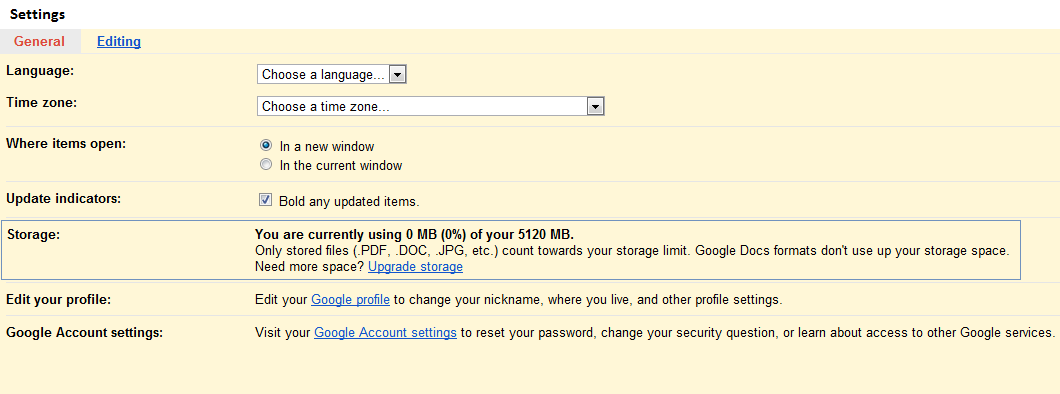 how to clean out google drive