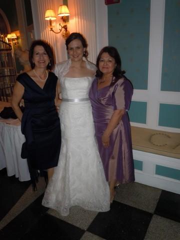 Tea-Length Mother of the Bride Dress