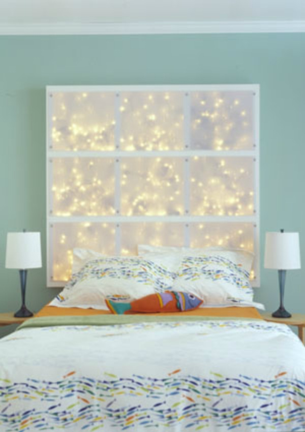 Brilliant DIY Light Headboard 600 x 850 · 69 kB · jpeg