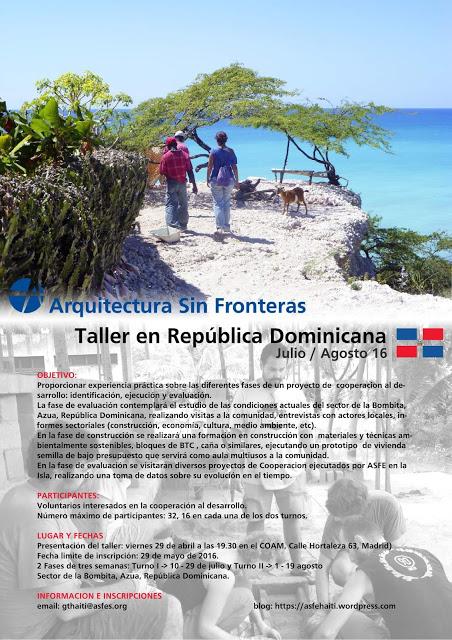 TALLER DE VERANO EN REPÚBLICA DOMINICANA