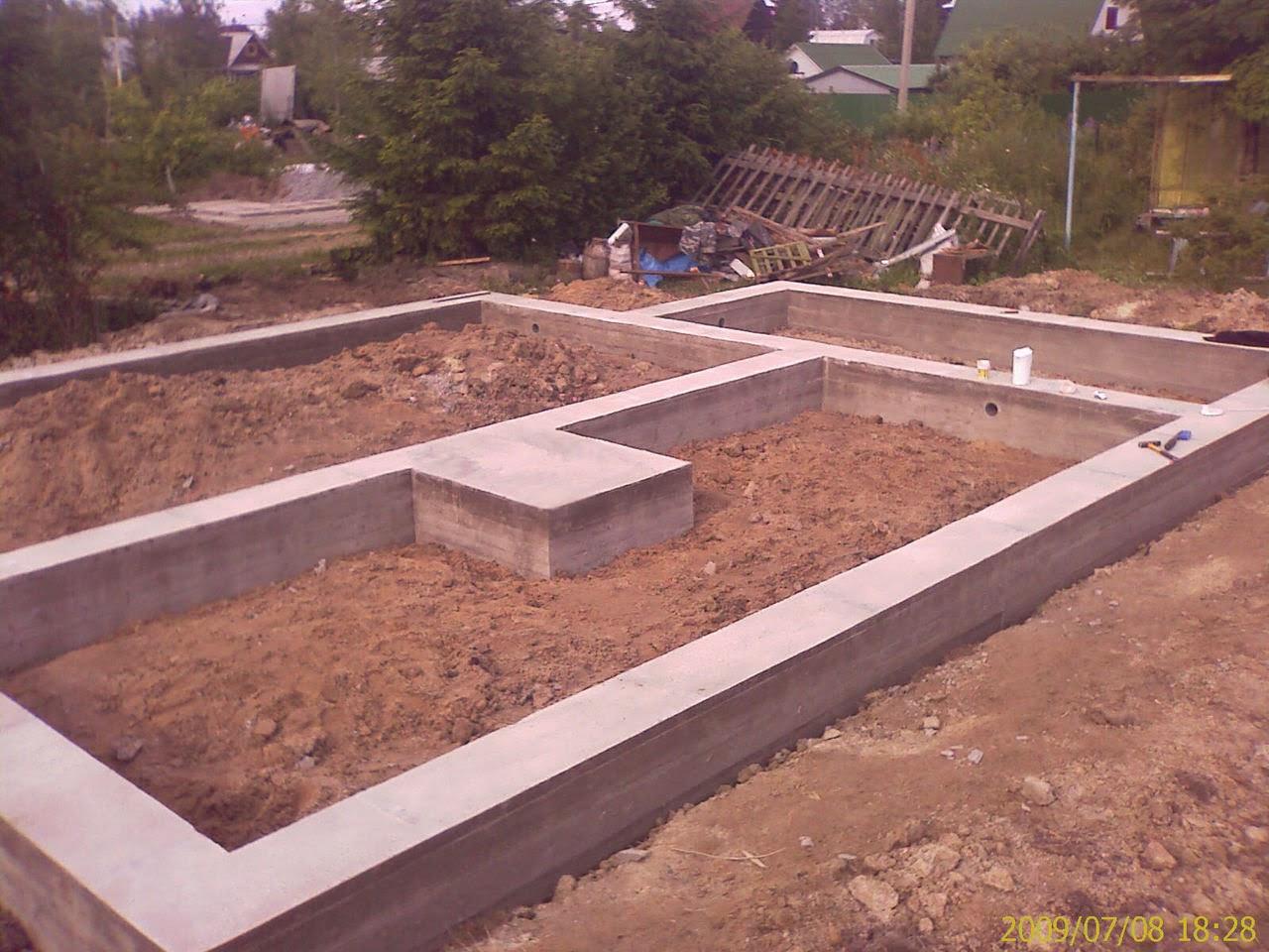 Стоимость метра фундамента Подольский район