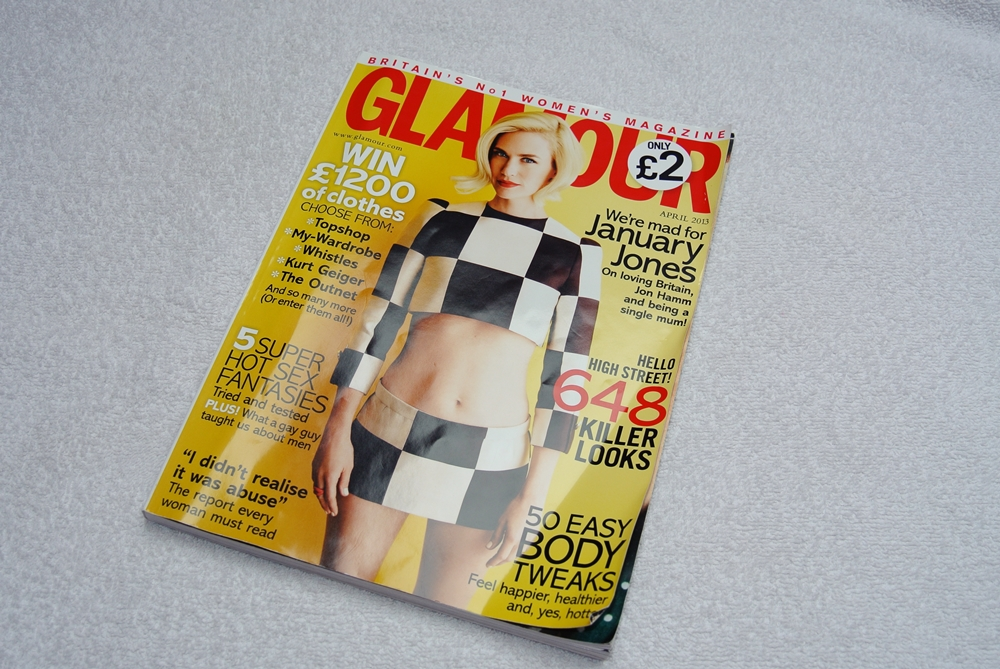 glamour uk april 2013