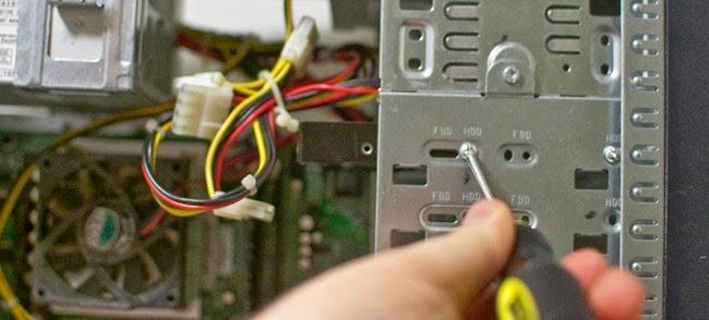 كيفية تثبيت قرص صلب جديد Hard Disk بالجهاز