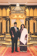 awarded DARJAH AHLI MAHKOTA PERAK(AMP)
