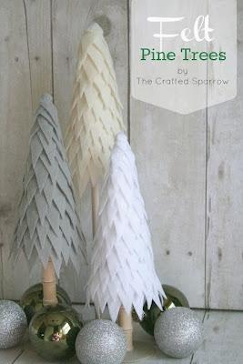 http://www.thecraftedsparrow.com/2012/11/felt-pine-trees.html