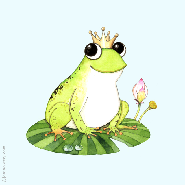 f is for frog g comme grenouille