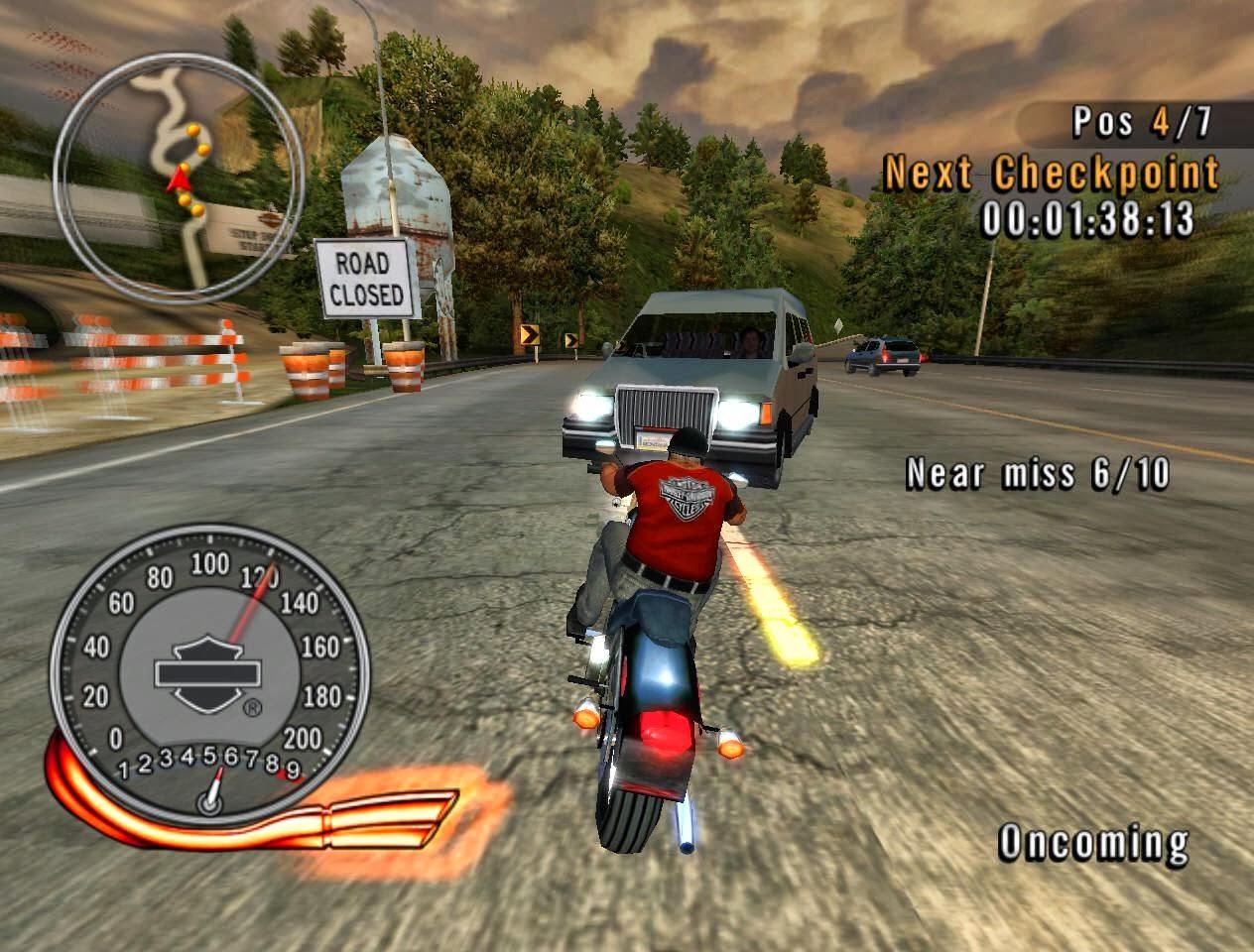 harley davidson race around the world game - free download full