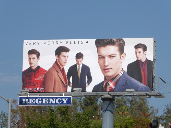 Very Perry Ellis FW 2015 billboard