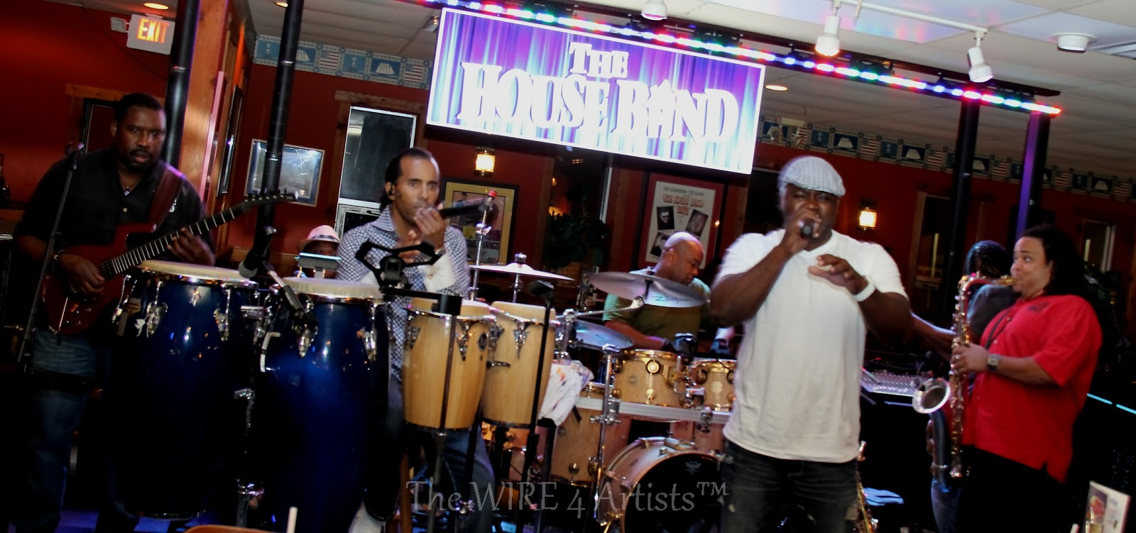 The wire 4 artists the house band for Fish market maryland