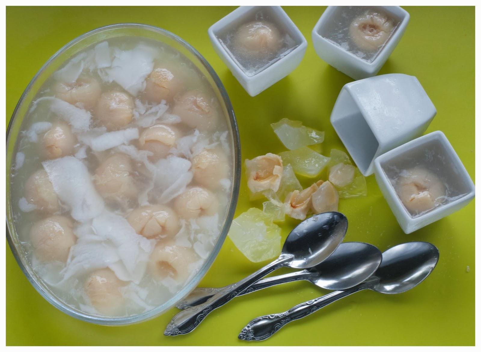 Split Coconut Jelly Recipe — Dishmaps