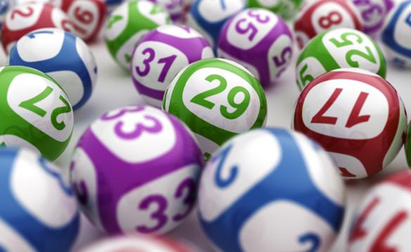 Lottery balls D16