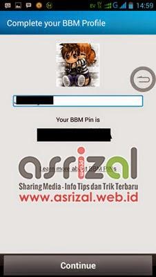 Mengatasi Error Ganti Display Picture BBM