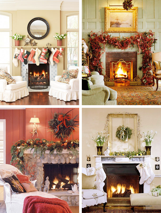 33 mantel christmas decorations ideas home design