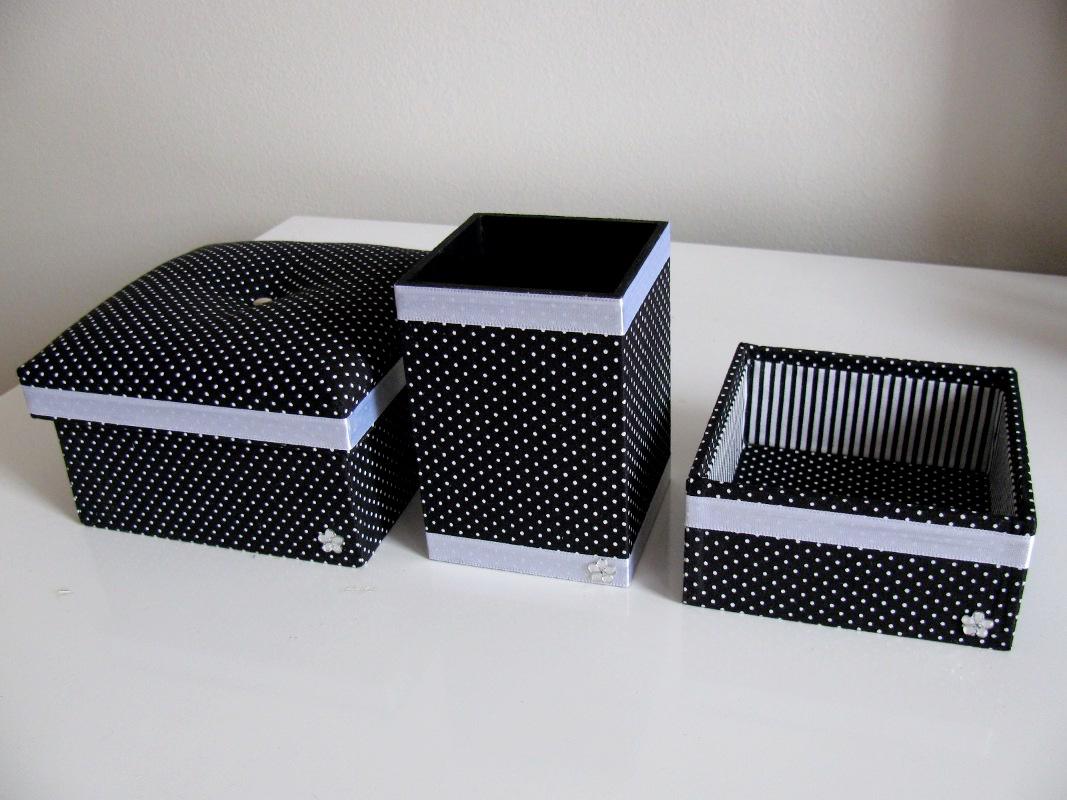 Armario Lavanderia ~ Fofuras de madeira Kit escritório poá preto