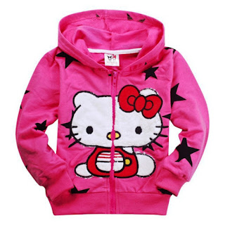 Contoh Jaket Hello Kitty Anak Perempuan