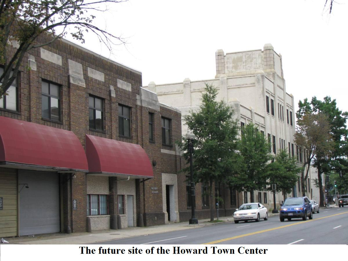 Howard Town Center is a mixedhoward town