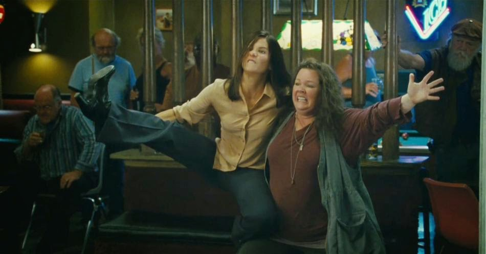 "Sandra Bullock and Melissa McCarthy in ""The Heat"""