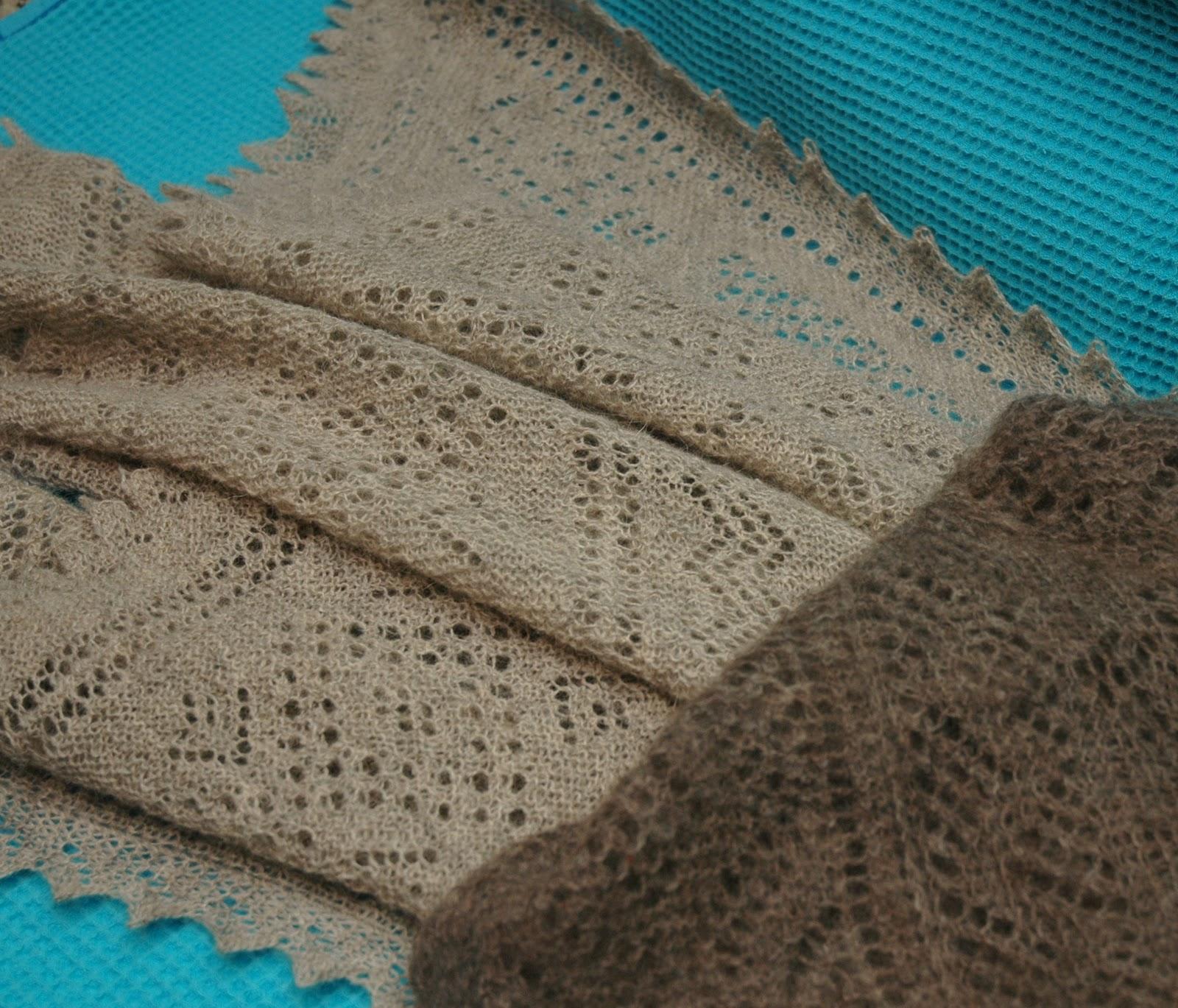 Вязание оренбургского платка спицами фото